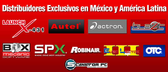 Distribuidores Exclusivos Launch, Autel y más