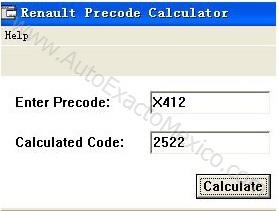 Renault calculateur.